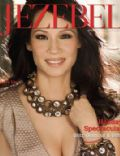 Lucy Liu on the cover of Jezebel (United States) - January 2011
