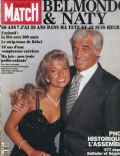 Jean-Paul Belmondo on the cover of Paris Match (France) - April 1993