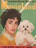 Elizabeth Taylor on the cover of Movieland (United States) - December 1952