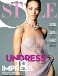 Rosie Huntington-Whiteley on the cover of Style (United States) - December 2009