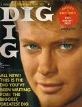 Troy Donahue on the cover of Dig (United States) - June 1961