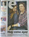 Juan Gil Navarro, Mariana Espósito on the cover of Clarin (Argentina) - June 2012