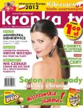 Agnieszka Sienkiewicz on the cover of Kropka TV (Poland) - June 2012
