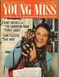 Kurt Russell on the cover of Young Miss (United States) - March 1970