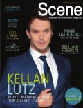 Kellan Lutz on the cover of Scene (United States) - January 2011