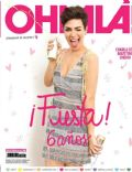 Agustina Cherri on the cover of Ohlala (Argentina) - April 2014