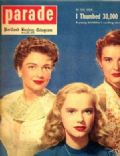 Anne Francis on the cover of Parade (United States) - July 1952