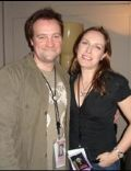 David Hewlett and Jane Loughman