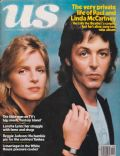 Linda McCartney, Paul McCartney on the cover of Us Magazine (United States) - March 1978