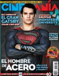 Henry Cavill on the cover of Cinemania (Mexico) - June 2013
