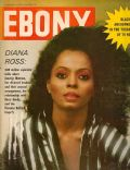 Diana Ross on the cover of Ebony (United States) - November 1981