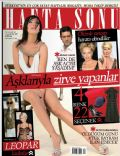 Burak Hakki, Paris Hilton, Seda Sayan, Sharon Stone, Yesim Salkim on the cover of Haftasonu (Turkey) - December 2007
