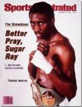 Thomas Hearns on the cover of Sports Illustrated (United States) - September 1981