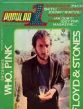 Pete Townshend on the cover of Popular 1 (Spain) - July 1979