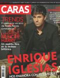 Enrique Iglesias on the cover of Caras (Puerto Rico) - February 2014