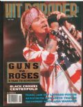 Axl Rose on the cover of Hit Parader (United States) - November 1992