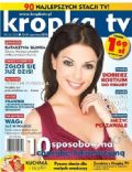 Katarzyna Glinka on the cover of Kropka TV (Poland) - June 2012