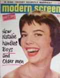 Natalie Wood on the cover of Modern Screen (United States) - February 1957