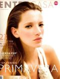Milagros Schmoll on the cover of Entrecasa (Argentina) - September 2004