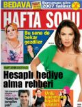 Cansel Elcin, Nil Karaibrahimgil, Selin Denizli, Tulin Sahin on the cover of Haftasonu (Turkey) - December 2006