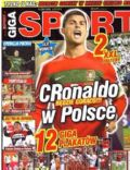 Cristiano Ronaldo on the cover of Giga Sport (Poland) - February 2012