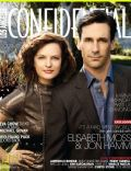 Elisabeth Moss, Jon Hamm on the cover of Los Angeles Confidential (United States) - October 2009