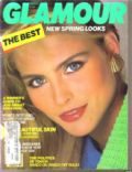 on the cover of Glamour (United States) - March 1986
