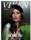 Iekeliene Stange on the cover of Vixen (Norway) - February 2011
