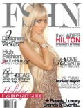 Paris Hilton on the cover of Fshn (United States) - December 2013