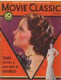 Sylvia Sidney on the cover of Movie Classic (United States) - November 1932