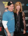 Leeza Gibbons and Steven Fenton