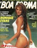 Monique Evans on the cover of Boa Forma (Brazil) - January 1993