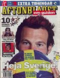 Fredrik Ljungberg on the cover of Aftonbladet (Sweden) - June 2006