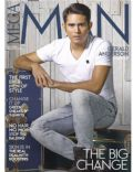Gerald Anderson on the cover of Mega Man (Philippines) - July 2014