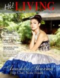 Anushka Sharma on the cover of Hi Living (India) - November 2011