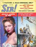 Brigitte Bardot on the cover of Sir (United States) - March 1959