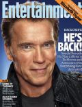Arnold Schwarzenegger on the cover of Entertainment Weekly (United States) - April 2011
