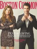 Connie Britton, Dylan McDermott on the cover of Boston Common (United States) - December 2011