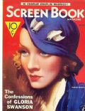 Marlene Dietrich on the cover of Screen Book (United States) - August 1933
