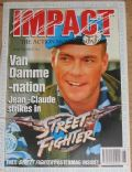 Jean-Claude Van Damme on the cover of Impact (United Kingdom) - June 1995