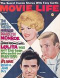 Connie Stevens, Richard Chamberlain, Vince Edwards on the cover of Movie Life (United States) - November 1962