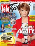 Daria Widawska on the cover of Tele Tydzie (Poland) - April 2013