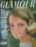 Cheryl Tiegs on the cover of Glamour (United States) - July 1967