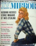 Donna Douglas on the cover of TV Radio Mirror (United States) - February 1964