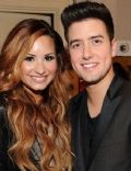 Demi Lovato and Logan Henderson