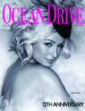 Paris Hilton on the cover of Ocean Drive (United States) - January 2006