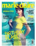 on the cover of Marie Claire (Malaysia) - August 2012