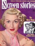 Lana Turner on the cover of Screen Stories (United States) - April 1952