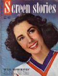 Elizabeth Taylor on the cover of Screen Stories (United States) - October 1948
