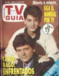 Pablo Rago on the cover of TV Guia (Argentina) - June 1990